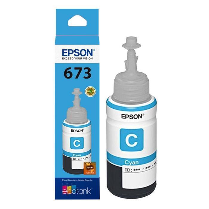 BOTELLA DE TINTA EPSON CIAN T673220