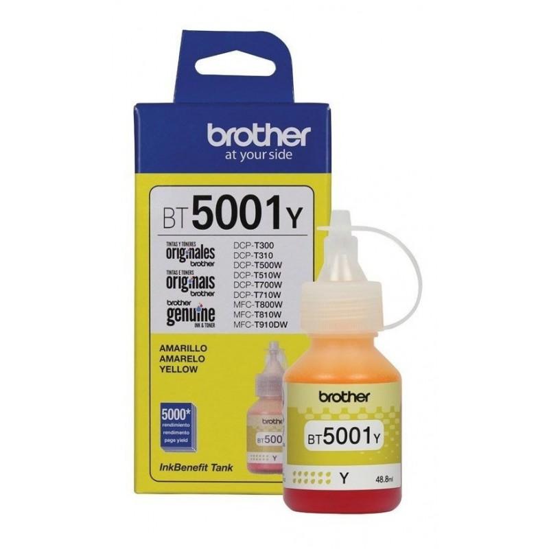BOTELLA DE TINTA BROTHER BT5001Y YELLOW
