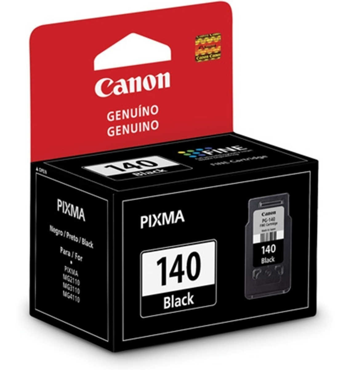 CARTUCHO CANON NEGRO PG140