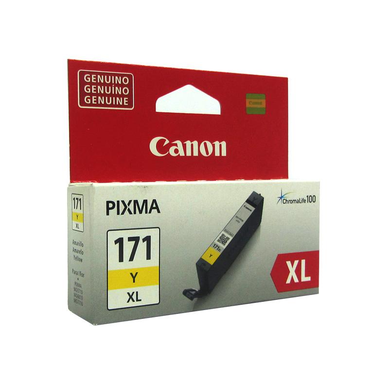 CARTUCHO DE TINTA CANON PIXMA CL171 YELLOW