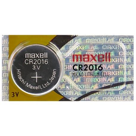 BATERIA LITIO MAXELL CR2016 3V
