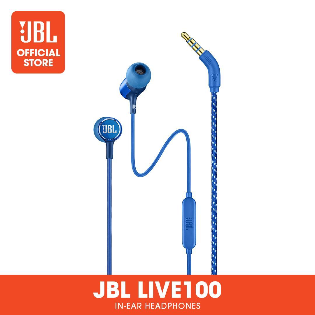 AUDIFONOS MULTIMEDIA JBL BY HARMAN LIVE 100 BLUE