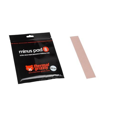 THERMALPAD THERMAL GRIZZLY MINUS PAD 8 120X20X0.5MM 2 PIECE