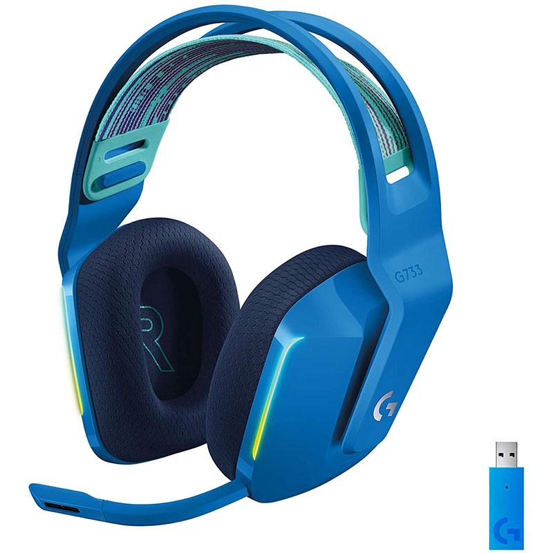 HEADSET INALAMBRICOS LOGITECH G733 LIGHTSPEED BLUE 981-000942