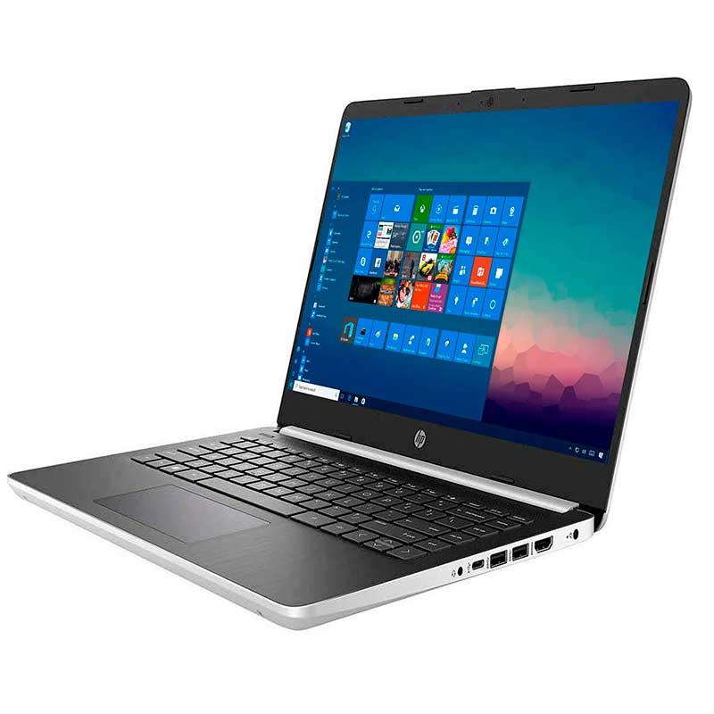 LAPTOP HP 14-DQ1037WM PROC. INTEL CORE i3 1005G1, RAM 4GB, SSD 128GB WINDOWS 10, PANTALLA HD 14 7PR51UA