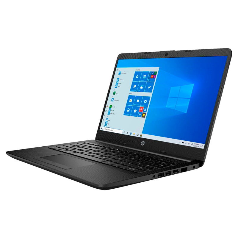 LAPTOP HP 14-FQ0013DX PROC. AMD ATHLON 3050U RAM 4GB ALMACENAMIENTO SSD 128GB PANTALLA HD 14P WIN 10HS