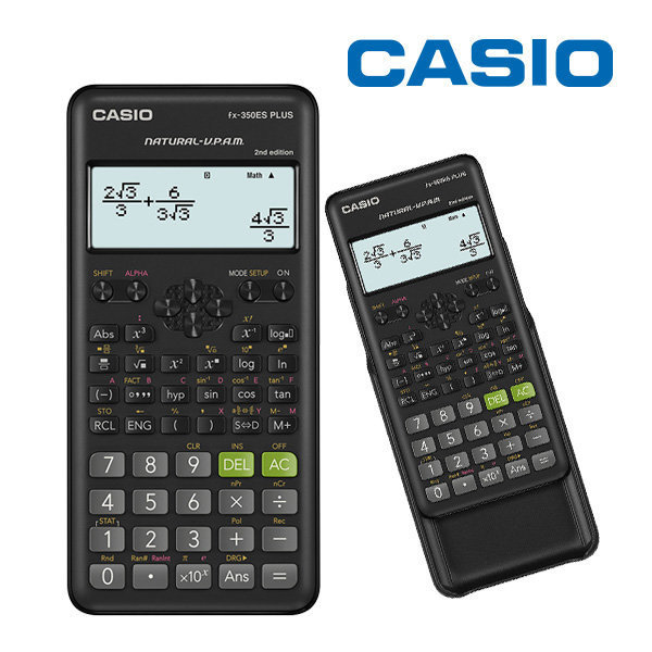 CALCULADORA CIENTIFICA CASIO FX-350ES PLUS 252F 2DA EDITION