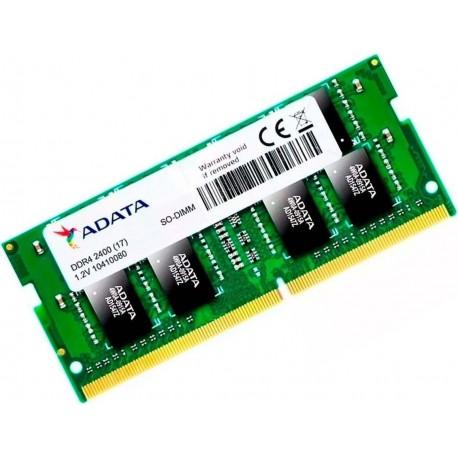 MEMORIA RAM ADATA DDR4 4GB 2666MHZ AD4S2666W4G19 DE LAPTOP