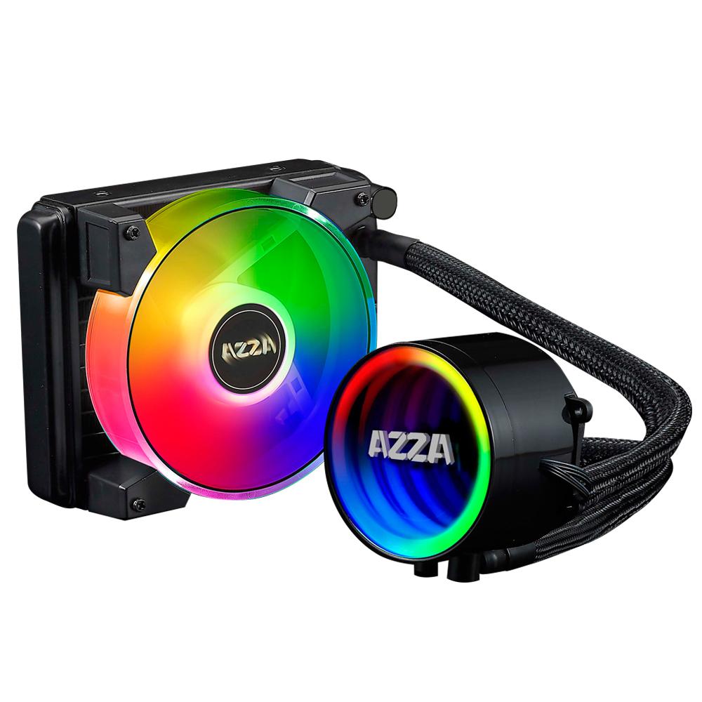 SISTEMA DE ENFRIAMIENTO LIQUIDO AZZA BLIZZARD 120MM ARGB PARA INTEL Y AMD