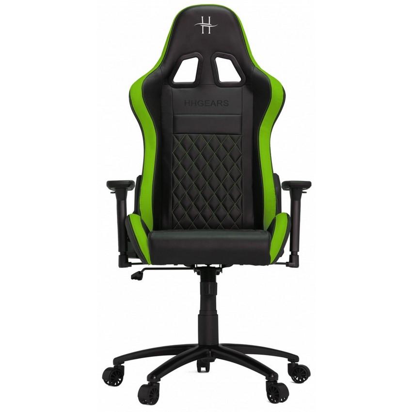 SILLA GAMER HHGEARS XL500 BLACK/GREEN