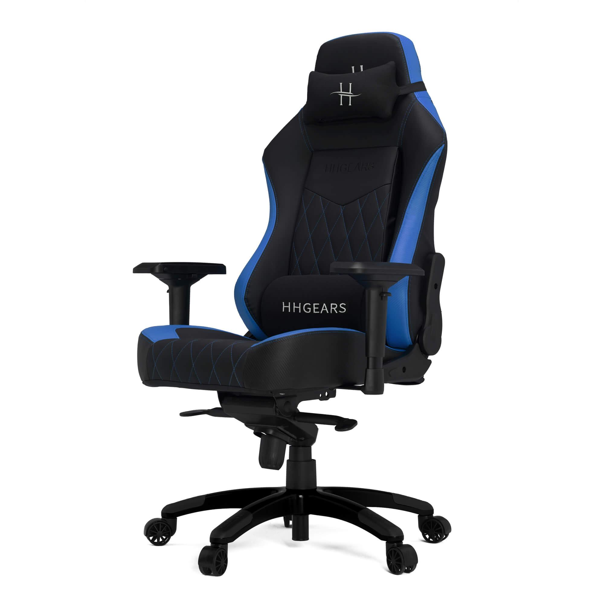 SILLA GAMER HHGEARS XL800 BLACK/BLUE