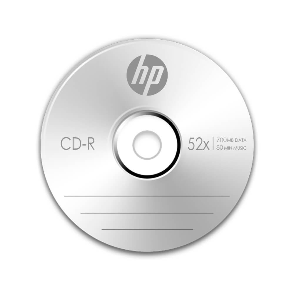 CD HP CR00070B CD-R 700MB 52X 80MIN