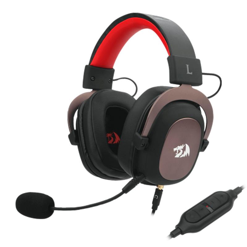 HEADSET REDRAGON ZEUS2 H510 USB Y 3.5MM BK