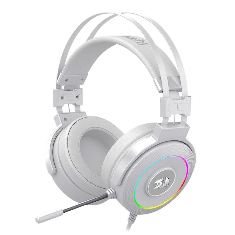 HEADSET REDRAGON LAMIA2 H320W RGB 7.1 USB WHITE