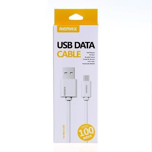 CABLE USB A MICROUSB REMAX FAST CHARGING RC007M WHITE