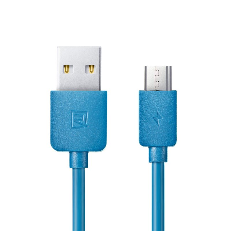CABLE USB A MICROUSB REMAX LIGHT RC06M BLUE