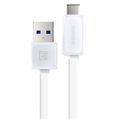 CABLE USB A USB TIPO C REMAX RTC1 BLANCO 2.1A