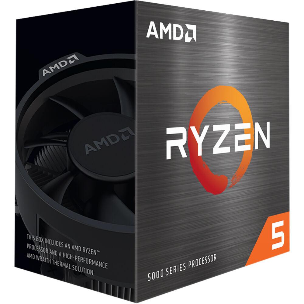 PROCESADOR AMD RYZEN 5 5600X 3.9GHz 6C/12T 35MB REQUIERE GPU