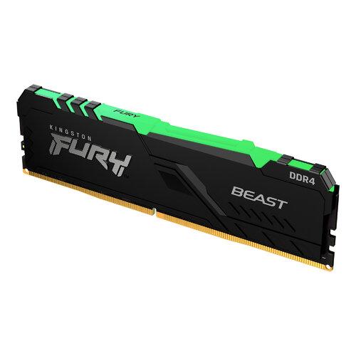 MEMORIA RAM DDR4 KINGSTON FURY BEAST 16GB 3200MHz KF432C16BBA/16 PC RGB