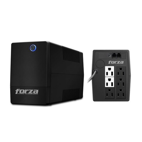 UPS FORZA 500VA 250W NT-511 6 OUTLETS
