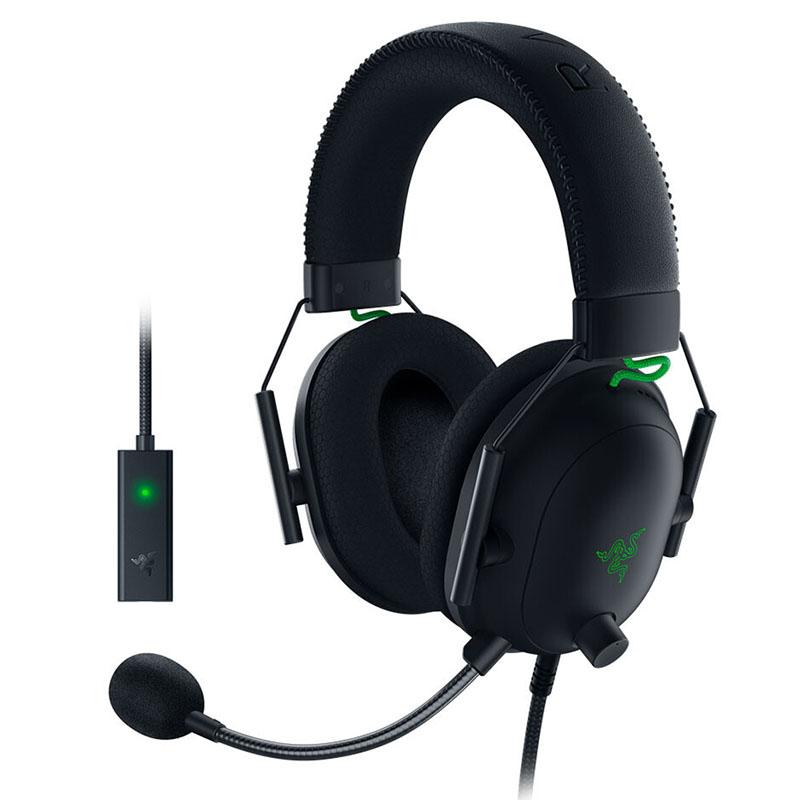 HEADSET RAZER BLACKSHARK v2 + USB SOUNDCARD RZ04-03230100-R3U1