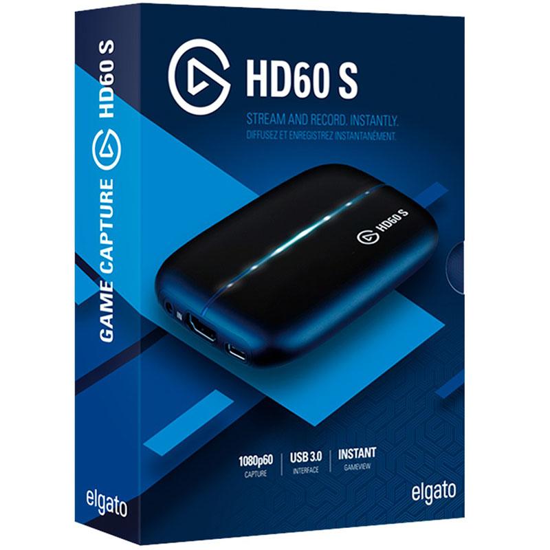 CAPTURADOR DE VIDEO EXTERNO ELGATO HD60 S