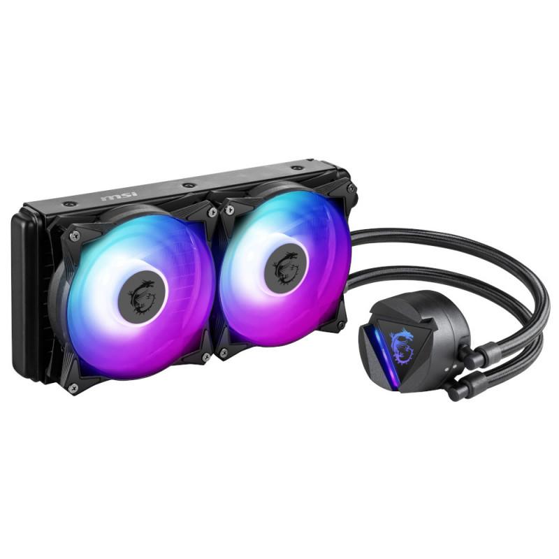 SISTEMA DE ENFRIAMIENTO LIQUIDO MSI MAG CORELIQUID 240R RGB PARA INTEL Y AMD