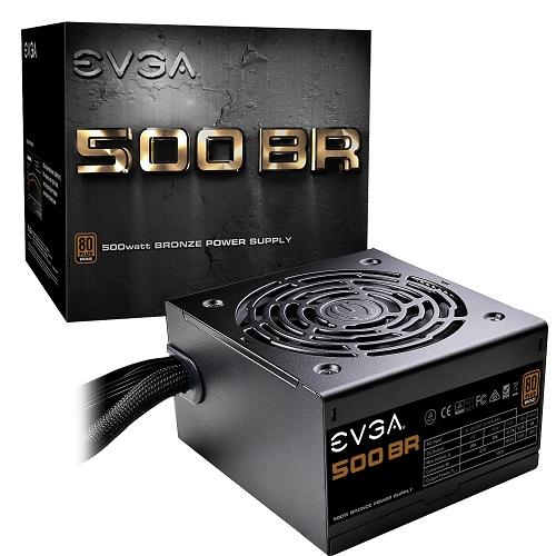 FUENTE DE PODER EVGA 500W 80+BRONCE 100-BR-0500-K1