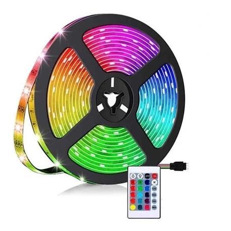 TIRA DE LUCES LED RGB 4 PINES 12V 5MTS 60LEDS