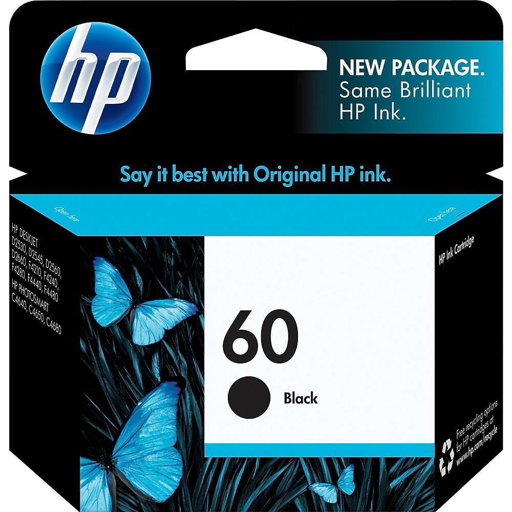 CARTUCHO HP 60 NEGRO CC640WL 4.5ML