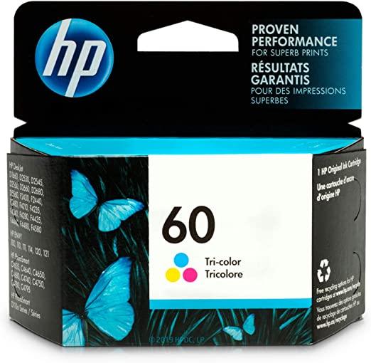 CARTUCHO HP 60 COLOR CC643WL 6.5ml