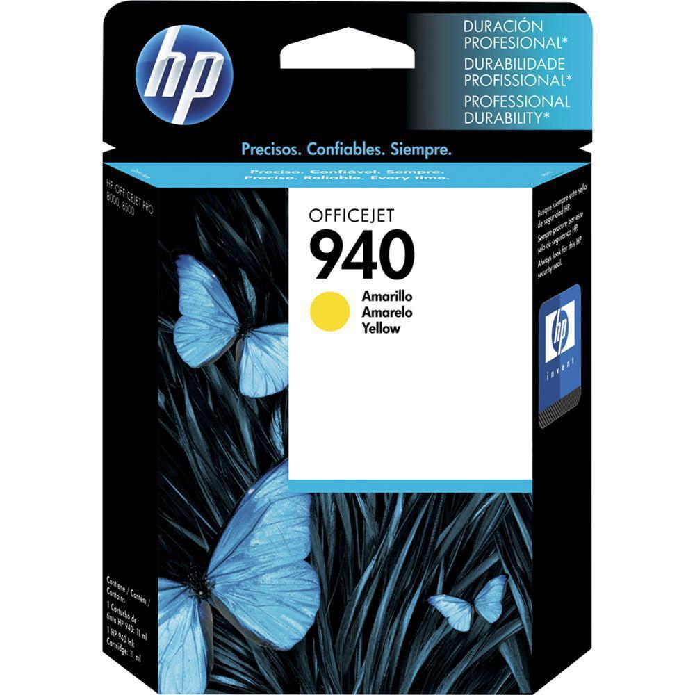 CARTUCHO HP940 YELLOW C4905AL 15.5ML