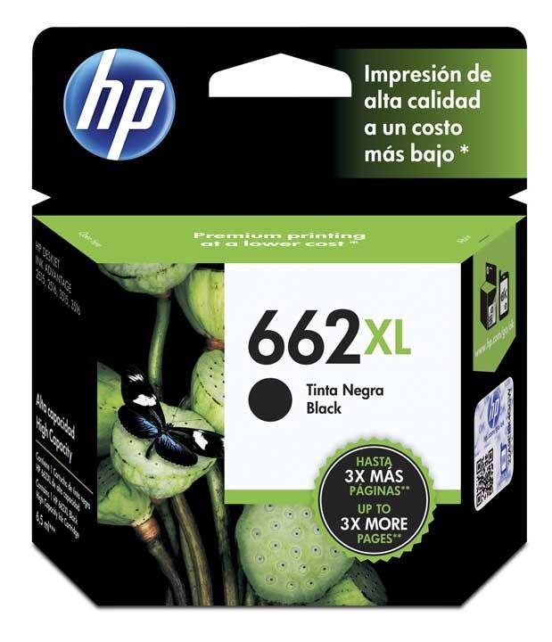 CARTUCHO HP 662XL BLACK CZ105AL