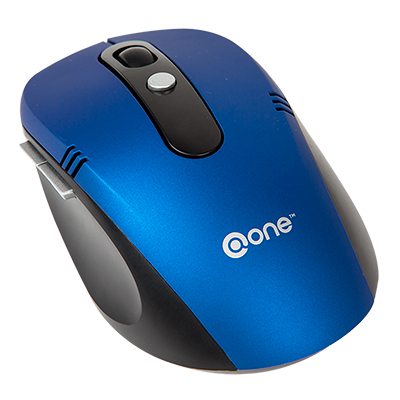 MOUSE INALAMBRICO @ONE CON BOTONES LATERALES EM202BU