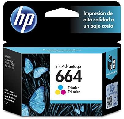 CARTUCHO HP 664 COLOR F6V28AL