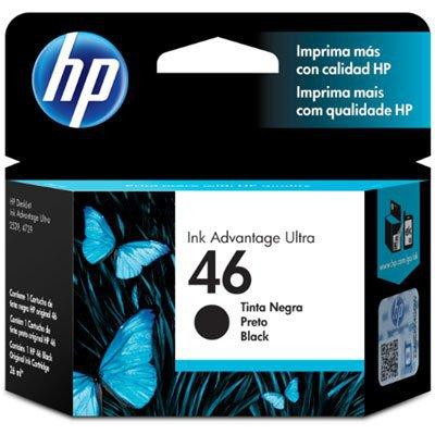 CARTUCHO HP 46 NEGRO CZ637AL 26ML