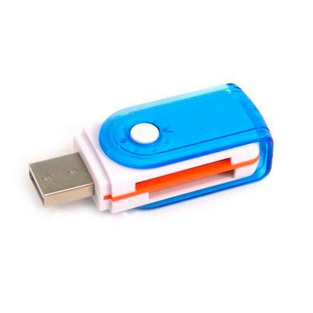 MULTILECTOR DE TARJETAS USB 2.0  101679