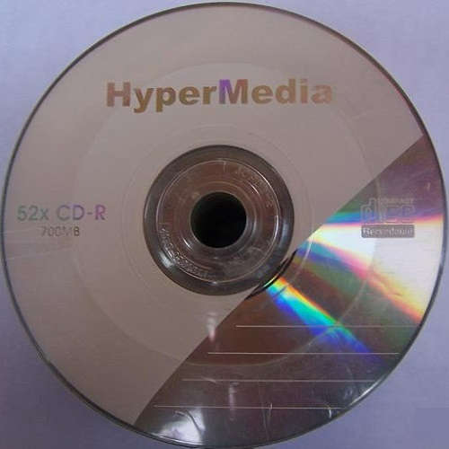 PACK DE 25 CD-RW 24X HYPERMEDIA