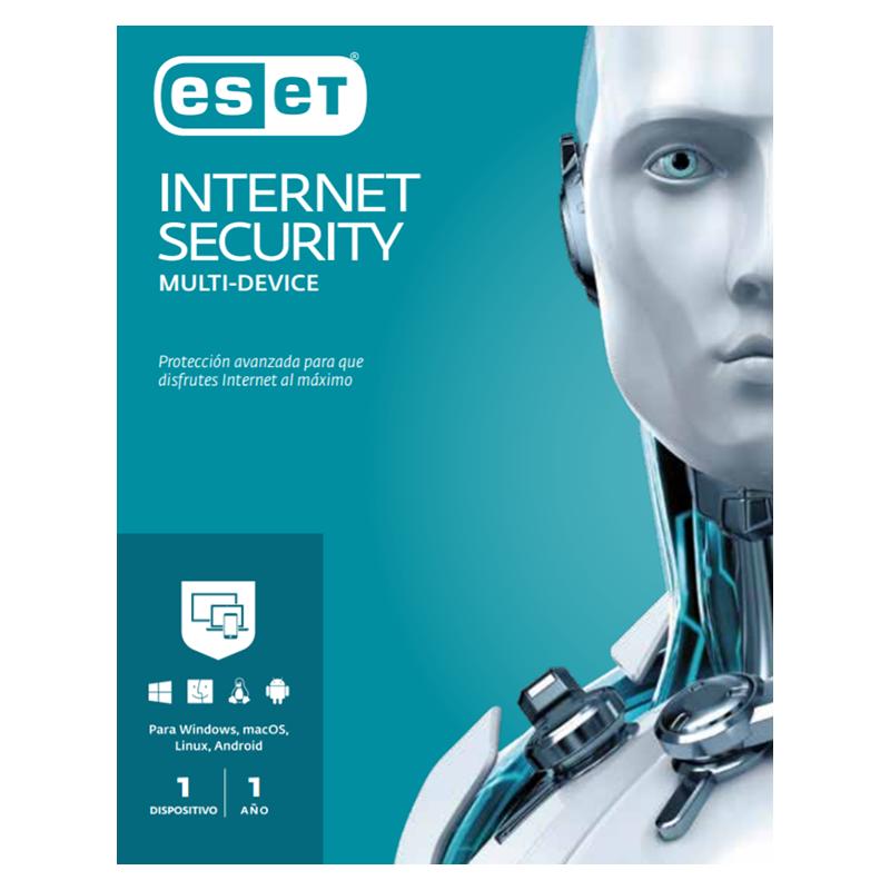ANTIVIRUS ESET INTERNET SECURITY 1 PC 1 AÑO MAESTRO/ESTUDIANTE MULTI OS
