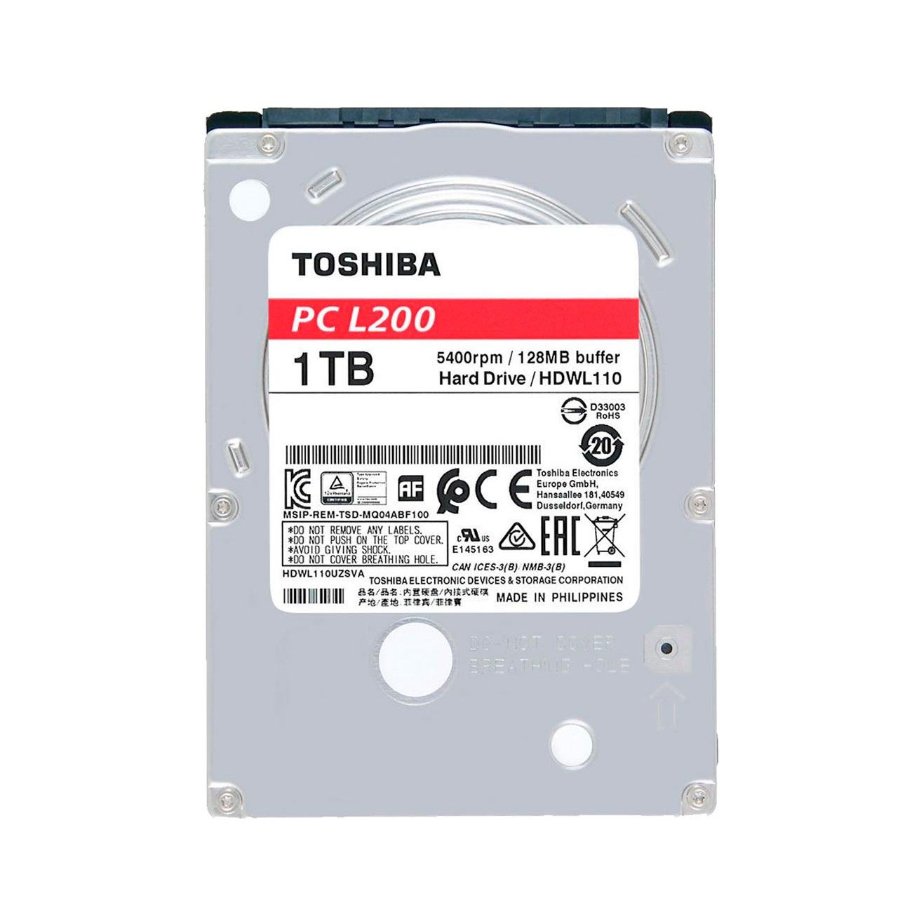DISCO DURO TOSHIBA PCL200 1TB LAPTOP