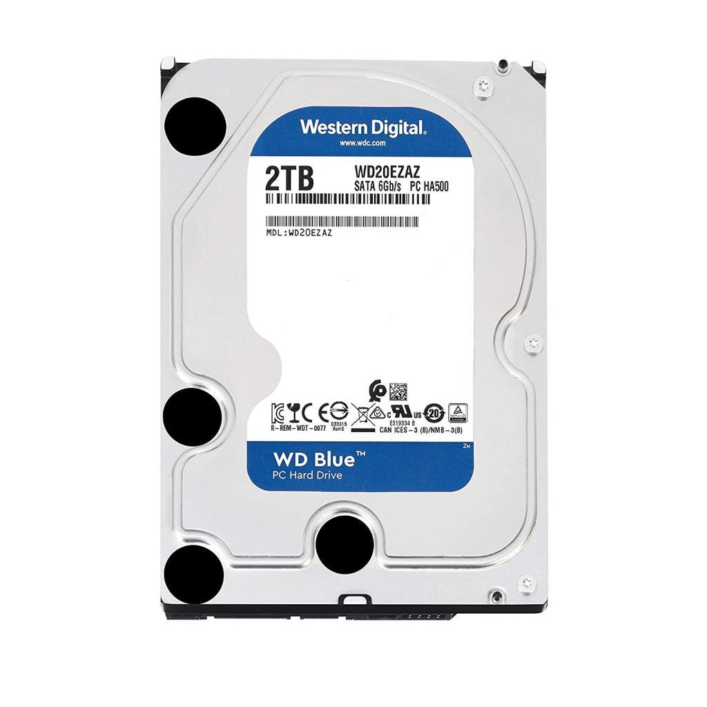 DISCO DURO DE PC WD 2TB WD20EZAZ 256MB 5400 rpm